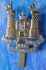 Staybrite Suffolk and Norfolk Yeomanry Regiment Cap Badge QC Slider Anodised