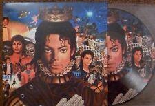 "VINILI 10"" MICHAEL JACKSON.KING OF POP.PICTURE DISC.25CM.6 TITR..FAN C.B..+COVER"