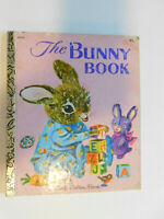 Richard Scarry's The Bunny Book 1980 Little Golden Book by Patsy Scarry