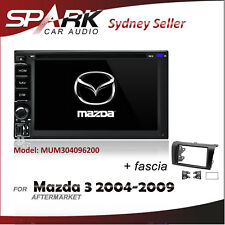 SP AFTERMARKET GPS DVD SAT NAV IPOD BLUETOOTH NAVIGATION FOR MAZDA 3 2004-2009
