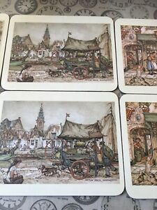 Kelsey Of Stonehouse Anton Pieck Vintage Table Mats