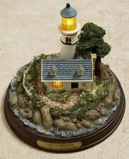 Thomas Kinkade Seaside Memories A Light in the Storm Lighthouse Figure
