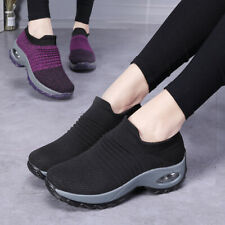 Women Travel Outdoor Shoes Super Soft Comfort Increase Height Walking Shoes