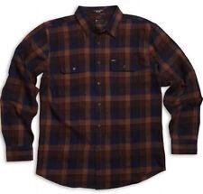 MATIX Ridgeport Flannel Shirt (L) Brown