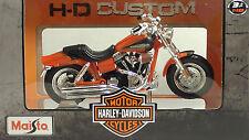 Maisto 1/18 - Moto Harley-davidson 2013 FLHTK Electra Glide Ultra Limited