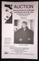 Vintage May 28,1994 Lucille Ball Estate Auction Catalog I Love Lucy