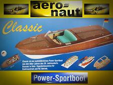 Classic Sportboot, Nr. 3092/00 v. aeronaut / Günther Modellsport, Holzbausatz