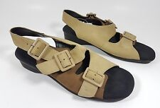 Clarks Springers tan leather sandals uk 3 eu 36