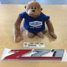 "GENUINE GM ""Z71"" FRONT DOOR EMBLEM CUSTOM SPORT 2015 SILVERADO GM#23465290"