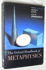 Oxford Handbooks: The Oxford Handbook of Metaphysics (2005, Paperback)