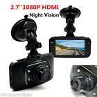 2.7'' Full HD 1080P Car DVR HDMI Video Camera Dash Cam Recorders Night Vision