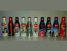 rare Full complete COCA COLA Coke 100 YEARS alu bottle SET bottles cans GERMANY