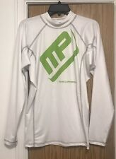 Muscle Pharm Mens Long Sleeve Mockneck Performance Top Size XL