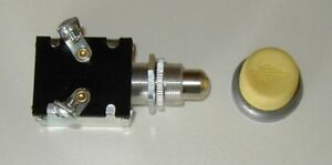 Push Button Glow Plug Switch w/ Yellow Rubber Button cover 3 Year Warranty a