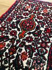 """2'x3"""" Vintage Hamadan with white field with  beautiful design and colors"""