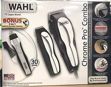 Wahl Chrome Pro Combo 30-Pc. Clipper Kit Set with Bonus