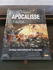 Warhammer 40000 40k manuale codex supplemento apocalisse