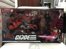 GI Joe Classified Series Baroness with Cobra COIL Target Exclusive Good face
