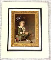 1914 Antico Stampa Pears Sapone Originale Pubblicità Bolle Sir John Millais