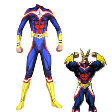 My Hero Academia All·Might 3D Muscle Jumpsuit Men & Women Cosplay Tight Suit