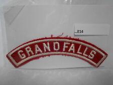 GRAND FALLS RED & WHITE SHOULDER STRIP  E14