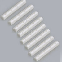 8 Pcs Ukulele Guitar Nut For 4 String Guitar Parts Replacement Bone