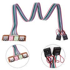 60cm USB 2.0 Port PC Computer Case Front Panel USB Audio Port Mic Earphone Cable
