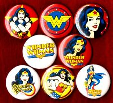 WONDER WOMAN 8 NEW 1 inch pins buttons badges comic