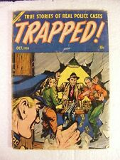 Trapped! #1 (October 1954, Ace) Golden Age Comic Book