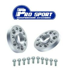 2x PCD adapters for VW 5x100 hub to 5x112 wheel with 57.1 centre bore 15mm thick