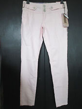 BOOM BOOM JEANS Womens Pink Skinny Jeans size 9 Juniors inseam 30""