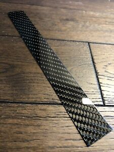 Carbon Fibre Plate 2mm Sheet 100% Real Solid Twill 200x25x2mm UK 🇬🇧