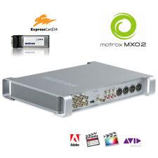 Matrox MXO2 I/O-Box mit ExpressCard34 HD-SDI HDMI Surround-Monitoring AES