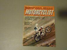 MAY 1968 MOTORCYCLIST MAGAZINE,BSA SHOOTING STAR,BMW R-50,HODAKA 100,YAMAHA 80