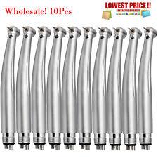 1 10 Led Dental E Generator Push Button High Speed Handpiece Air Turbine 4 Holes