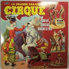 LA GRANDE PARADE DU CIRQUE Great Circus Orchestra Mint Gatefold LP France Import