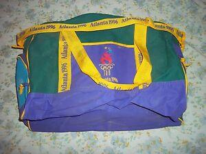 OLYMPIC 1996 ATLANTA DUFFEL BAG - Used