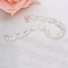 ADDE Gorgeous 925 Silver Charm Chain Bracelet Wedding Fashion Elegant Gifts