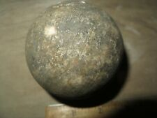 Spanish 4 Pounder Stone Cannonball,1715 Treasure Fleet, Amelia, Island Florida