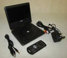 Alba 7 Inch Portable DVD Player - Black T-701 RF2229