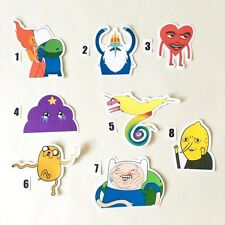 ADVENTURE TIME 2 Sticker Finn & Jake & Ice King & Princes Bublegum & BMO