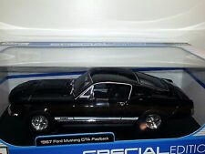 1/18 MAISTO SPECIAL EDITION 1967 FORD MUSTANG GTA FASTBACK BLACK gd