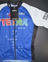 Louis Garneau Mens L Cycling Jersey TETRA GE Specialized Bianchi NWT Resistex