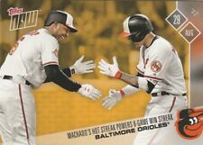 Manny Machado Schoop ORIOLES 2017 TOPPS NOW PLAYERS WEEKEND BONUS PWB-01