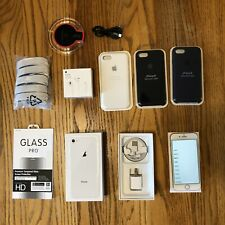 IPHONE BUNDLE: Apple iPhone 8 64GB White Unlocked with accessories!