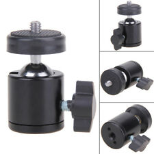 360° Swivel Mini Ball Head Bracket Camera Tripod +1/4 Screw Mount Stand for DSLR