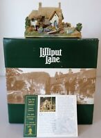 Lilliput Lane - L2396 - The Old Mill at Dunster - Boxed with Deeds - 2001