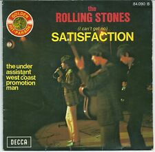 "The Rolling Stones Satisfaction (7"") 1971? - Areacem B7 on back left ps FRANCE"