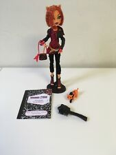 Toralei w/ Pet Sweet Fangs Monster High Doll 1st First Wave 2011 Stand Diary Lot