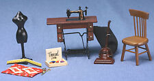 Dollhouse Miniatures 1:12 Scale Sewing Room Kit Item #CLA91207